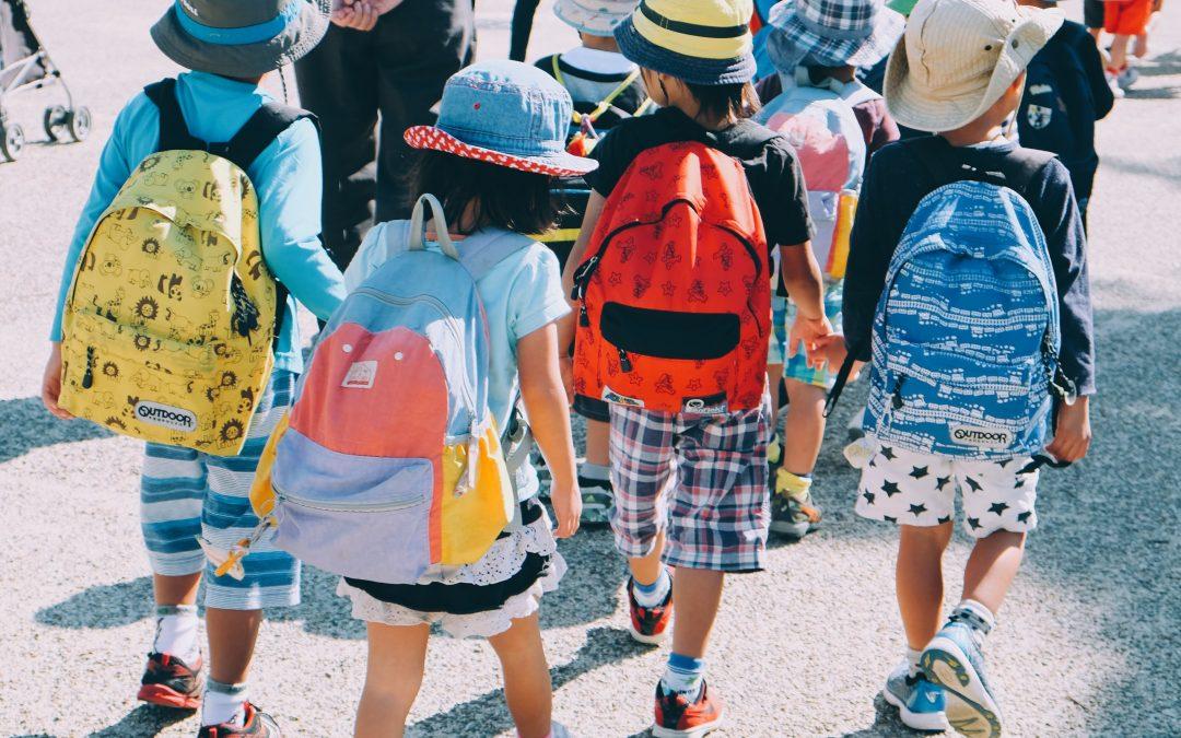 Ergonomisk skoletaske til dit barn